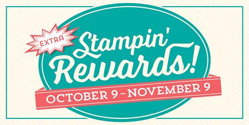Extra stampin rewards - october 2015