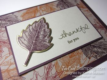 Kathes blackberry & gold vintage leaves 4