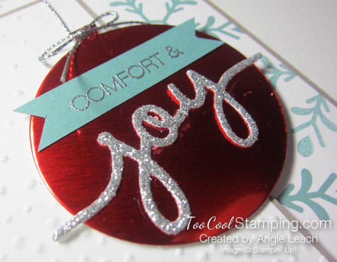 Holly Jolly Ornament - joy 2
