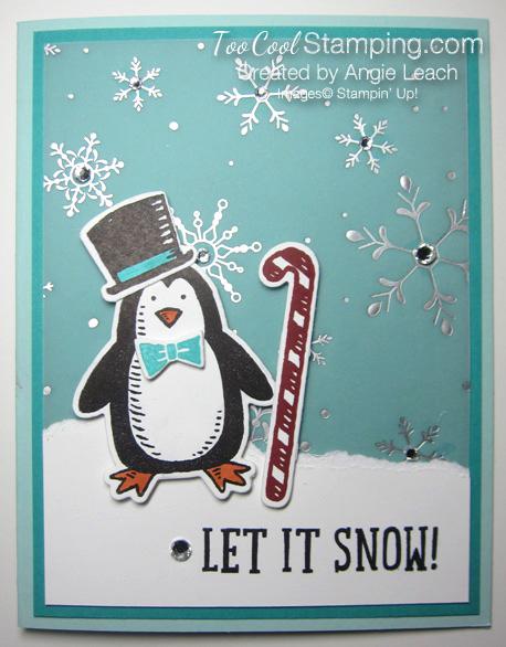 Snow place let it snow - penquin