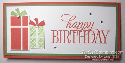 Your presents money holders - birthday