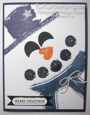 Peggys snowman work of art 1