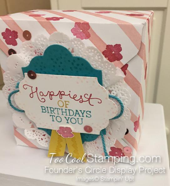 Birthday blooms - FC box