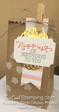 Birthday blooms - FC happiest birthday bag