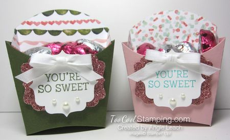 Sweet birthday blooms treats - two cool
