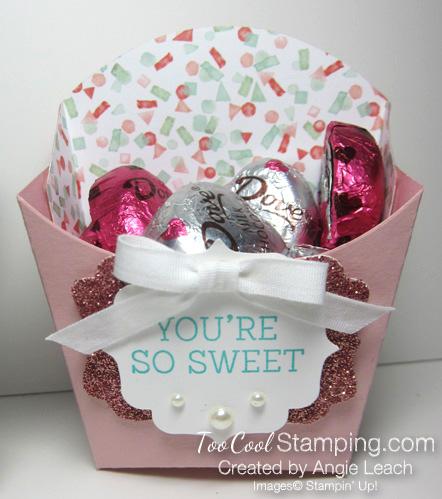 Sweet birthday blooms treats - blushing