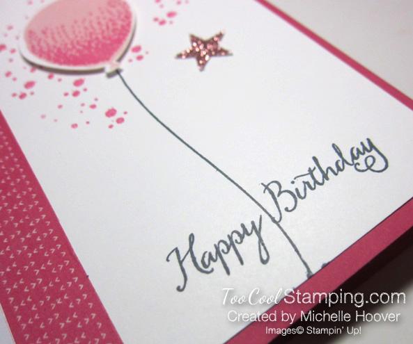 Michelle - balloon celebration pink stars 3