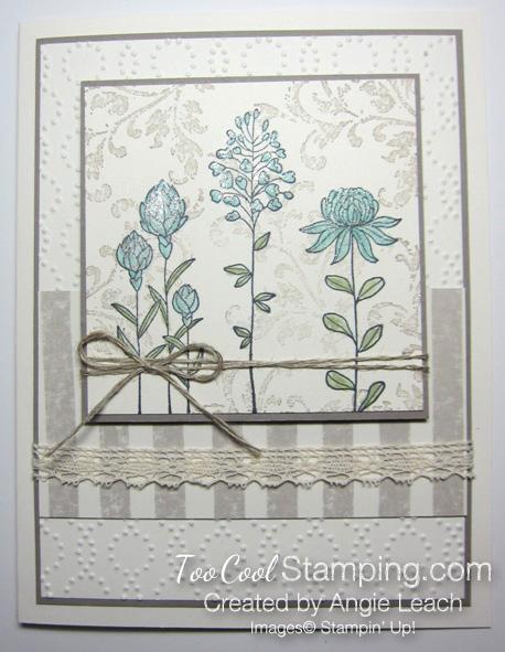 Vintage flowering fields - v1