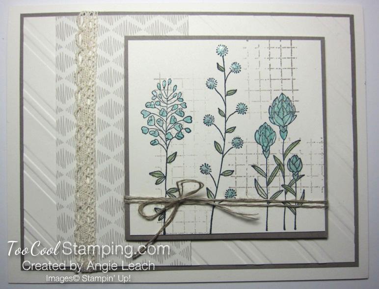 Vintage flowering fields - h1