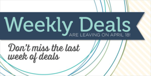 Weekly deals - last
