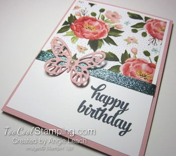 Quick dsp tin of cards - flower birthday3