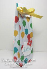 A mini tall box - cherry side