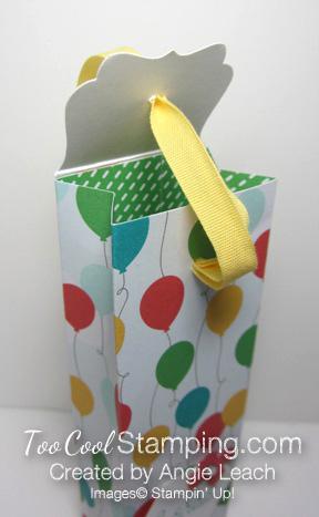 A mini tall box - open top