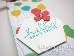 A mini tall box - cherry sentiment