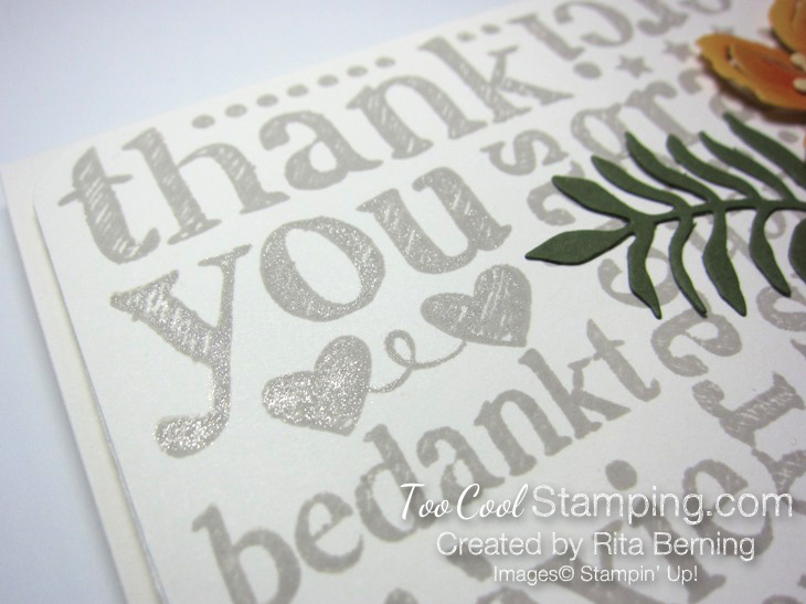 Botanical Thank you 2
