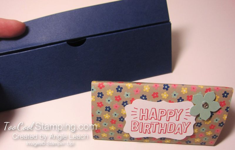 Affectionately Yours Triangle Boxes - navy 4
