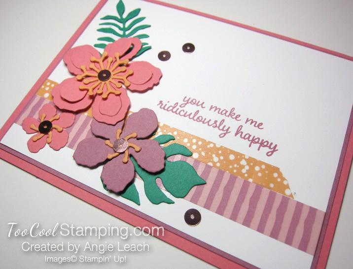 Sugarplum botanicals - striped washi 2