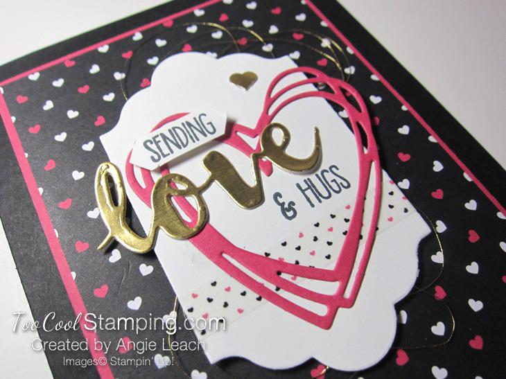 Pop of pink sunshine wishes - black 3