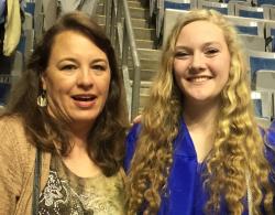 Sammi & me graduation 2016
