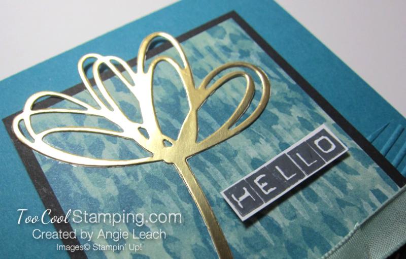 Blooms & bliss labeler - indigo hello 3