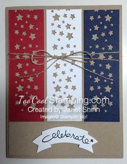 Janet - patriotic card