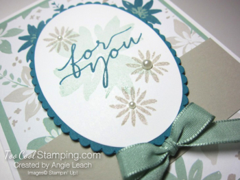Blooms wishes tunnel card - indigo2