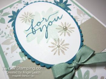 Blooms wishes tunnel card - indigo2