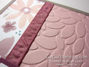 Blooms & wishes shimmery - blushing 3