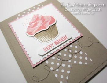 Sweet cupcake birthday - blushing dots 2