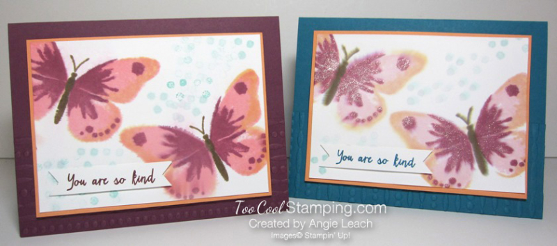 Watercolor wings spritz - two cool
