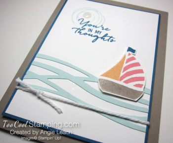 Swirly sailboat - warm v2