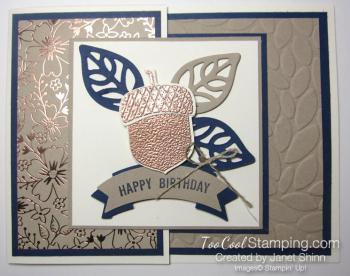 Janet - acorny birthday