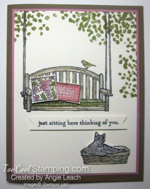 Sitting here - sugarplum suede