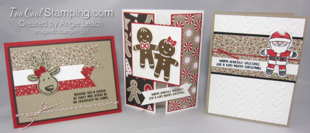 Cookie cutter christmas - cool trio