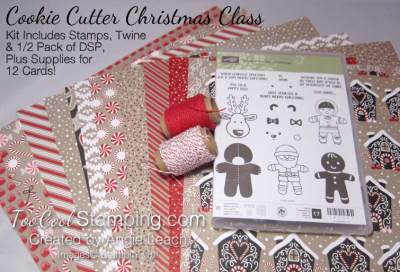 Cookie cutter christmas - kit contents 2