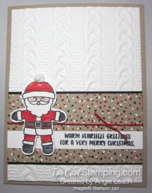 Cookie cutter christmas santa a - 1