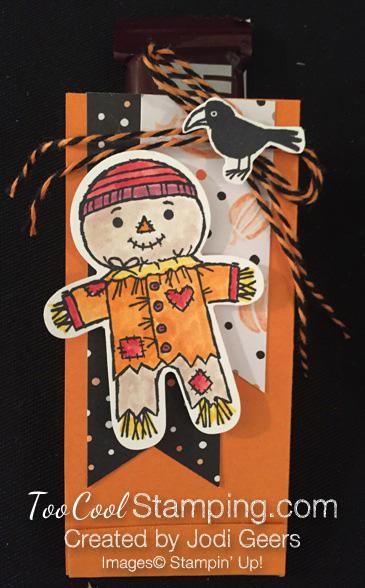 Jodi cookie cutter halloween treat - scarecrow