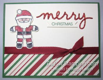 Merry santa - red