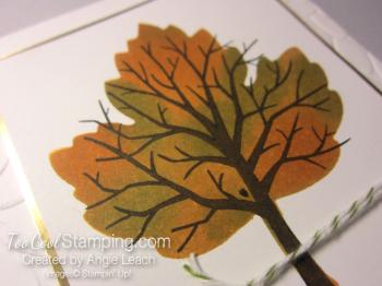 Sponged maple tree - thankful 2