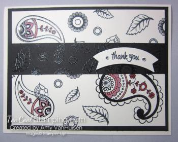 Amy - paisleys card 1