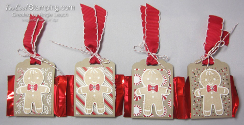 Cookie Cutter Christmas Chocolate Holder - four cool