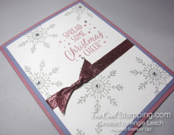 Tin of tags sparkle - plum wisteria 3