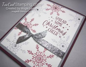 Tin of tags sparkle - razzleberry slate 2