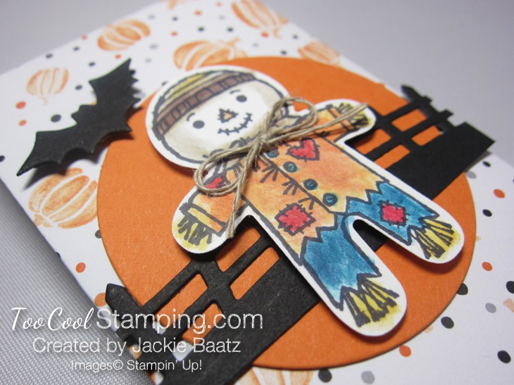 Jackie halloween scarecrow pouch 2