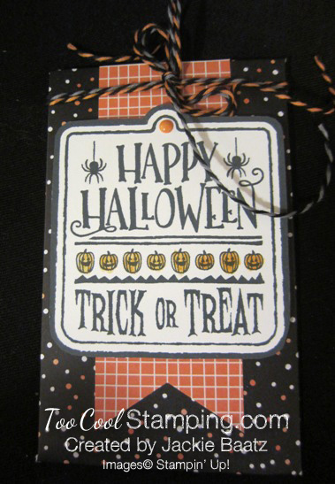 Jackie halloween black pouch