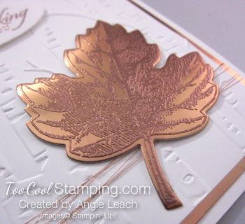 Copper Vintage Leaf - thinking maple 2
