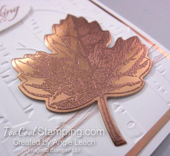 Copper Vintage Leaf - thinking maple 2