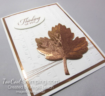Copper Vintage Leaf - thinking maple 3