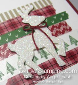 Dazzling reindeer closeup - toocool