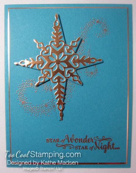 Star of light copper emboss 1